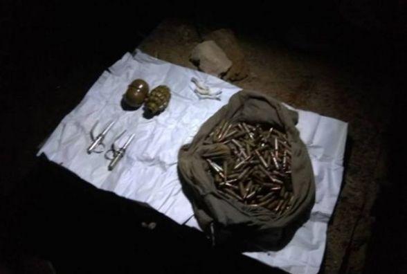 У військовому містечку на Вінниччині знайшли два схрони з гранатами