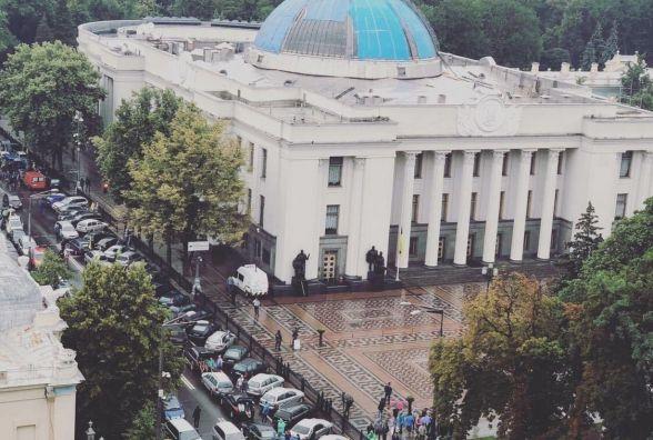 """У Києві протестують """"євробляхери"""". Вінничани теж приїхали"""