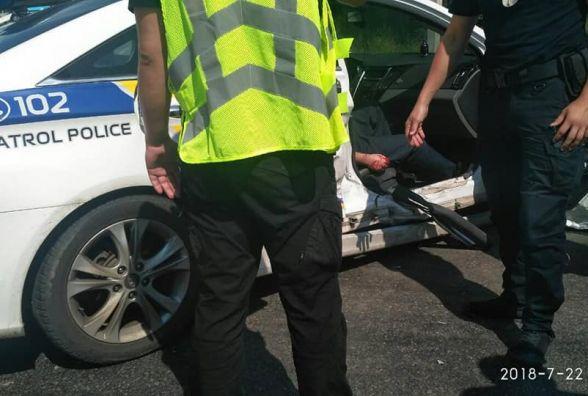 ДТП біля Метро. Свідок каже, що винні поліцейські, бо порушили ПДР (ОНОВЛЕНО)