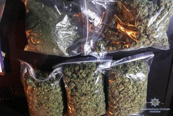 Наркотиків на півмільйона гривень виявили у 27-річного вінничанина