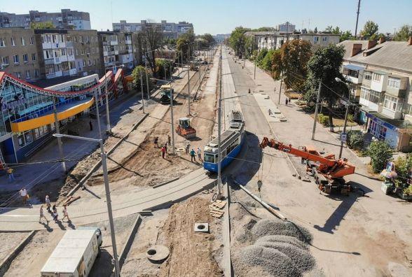 «Оксамитовий шлях»: як триває реконструкція ІІ-ї черги вулиці Замостянської