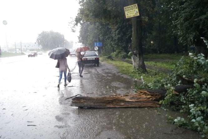 Як смерч руйнував околиці Вінниці 11 липня (ВІДЕО)