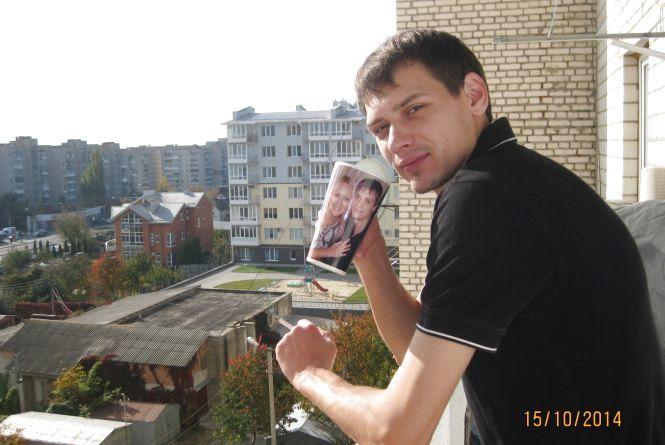 """Конкурсу """"Селфі з вранішньою кавою"""": Олександр Андрущак"""