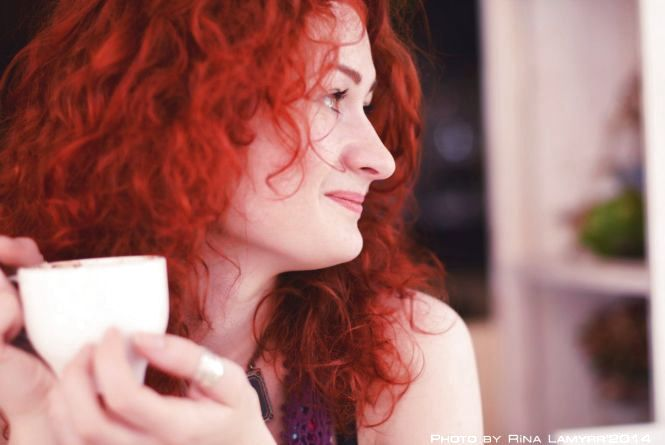 """Конкурс """"Селфі з вранішньою кавою"""": Марина Однорог"""