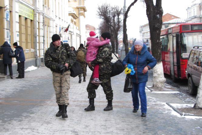 """Бійці батальйону """"Вінниця"""" відсвяткують Новий рік із рідними"""