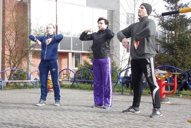 Винницкое воркаут-реалити: тренировались, несмотря на дождь и снег