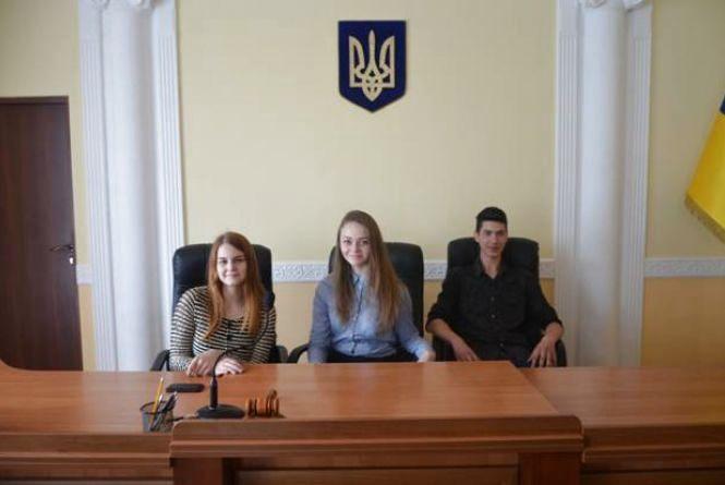 У суді продемонстрували учням європейське судочинство (ПРЕС-СЛУЖБА ВААС)