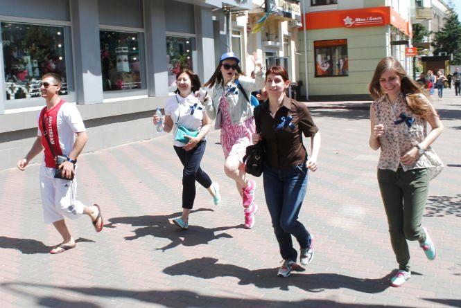 Журналисты 20minut.ua вместе с участниками «Воркаут-реалити» выиграли исторический квест