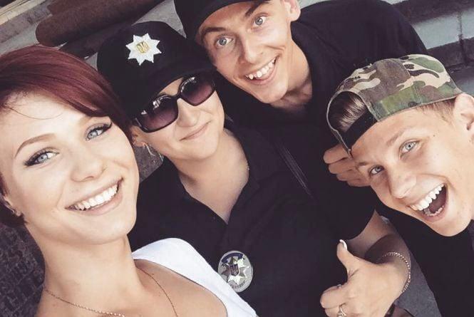 Шестеро вінницьких красунчиків і красунь служать в поліції у Києві