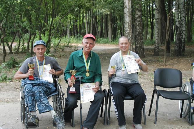 У Вінниці пройшов турнір з риболовлі за участю людей з інвалідністю