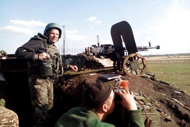 Полковник з Вінниці просився в АТО  рядовим солдатом