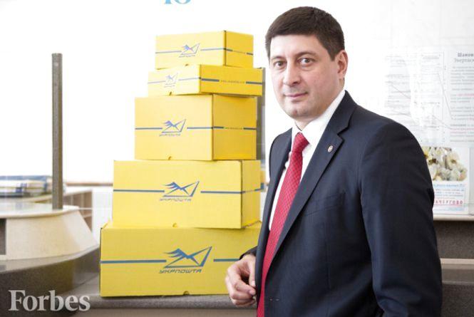 Вінничанин в інтерв'ю для «Forbes Україна» розкрив таємниці угоди з Китаєм (ПРЕС-СЛУЖБА УКРПОШТИ)