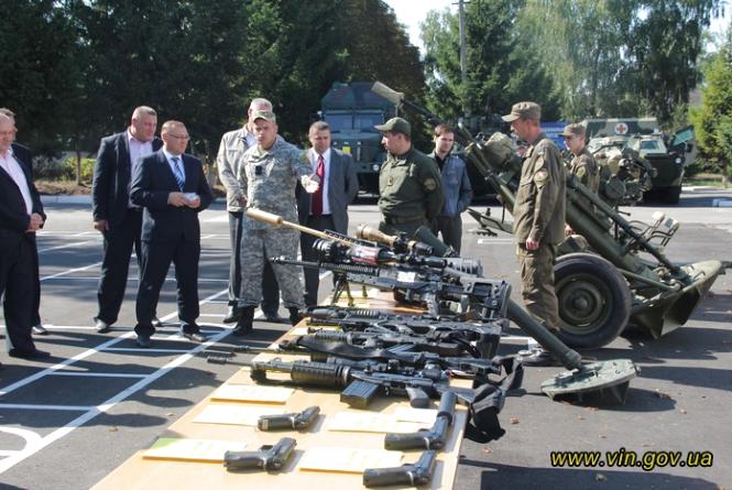 Калинівську військову частину  модернізували на мільйон