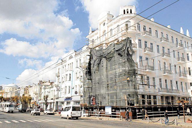 «Савой» після реконструкції тріснув. ВААС подає на «МУР» в суд