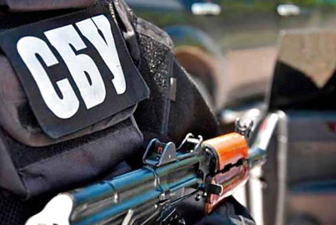 Вінницькі СБУшники затримали у зоні АТО бойовика