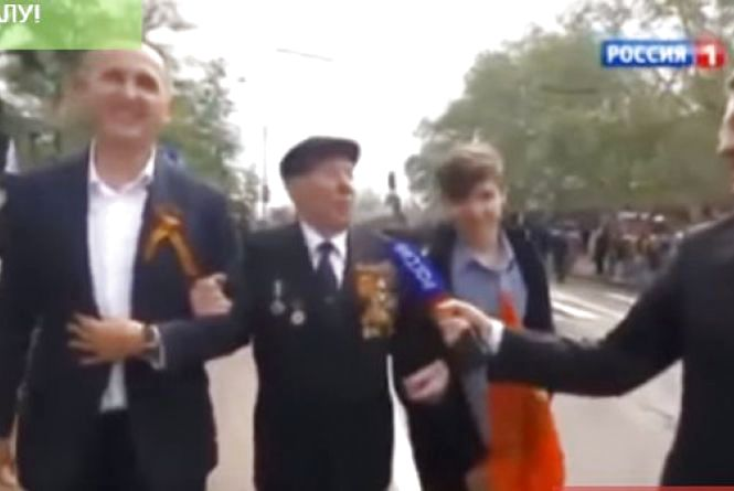 """Таїса Гайда: """"Все Шевцов тобі пі...ць"""". Активісти знайшли відео, на якому Шевцов бере участь у """"путінському параді"""""""