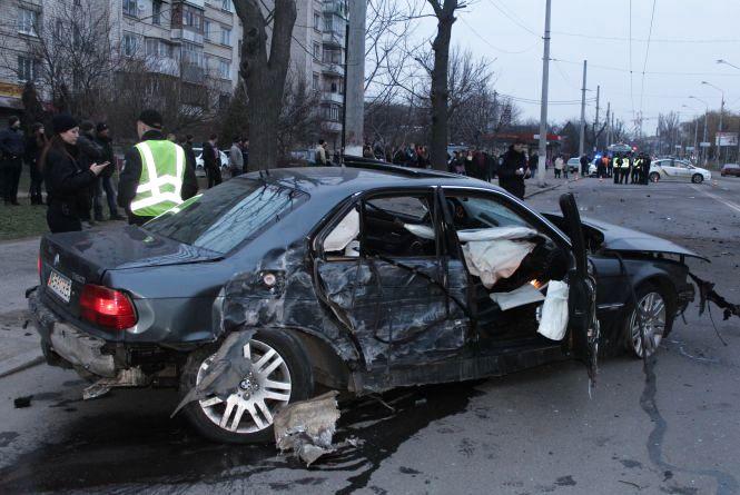 """Аварія на Пирогова. Загинув водій """"Жигулів"""" з Стрижавки"""