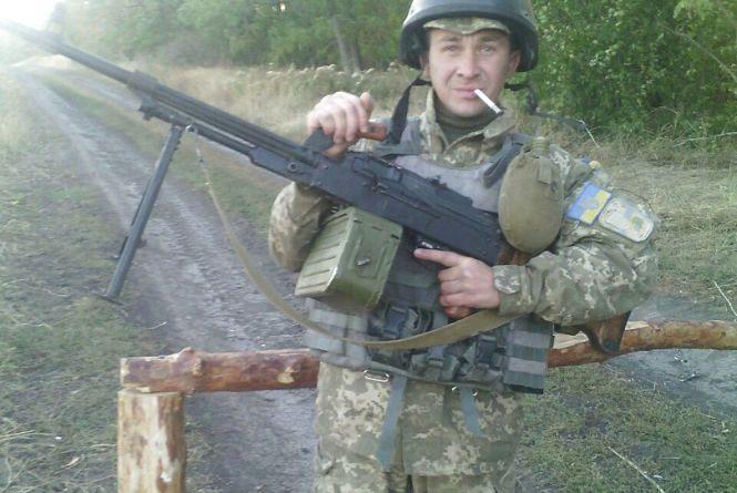 В Страсну п'ятницю в АТО загинув 32-річний боєць з Вінниці Сергій Завала