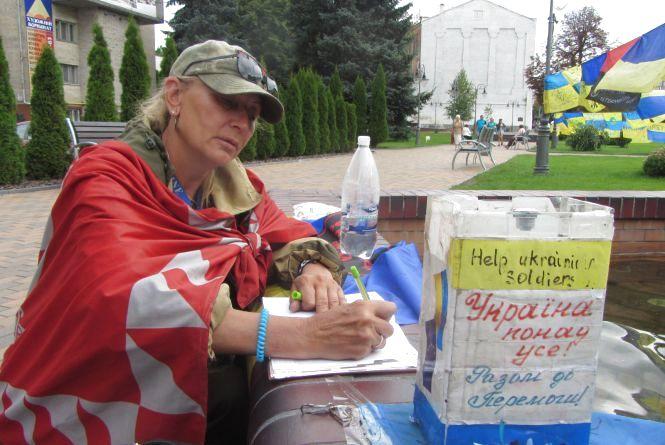 Велика Українська Хода з прапорами повернулась у Вінницю через два роки