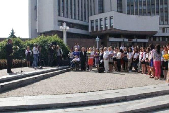 На площі Василя Стуса розпочались Вересневі Стусівські читання