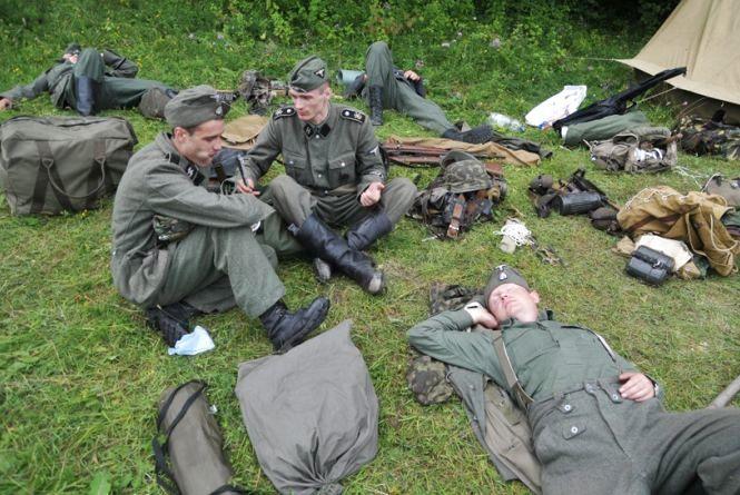 На «Вервольфе» развернули лагерь Красной армии, УПА и Вермахта