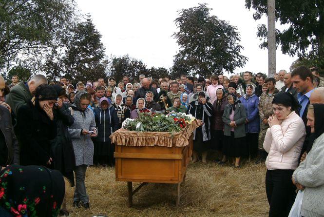 На Вінниччині поховали бійця АТО, якого рідні шукали два роки