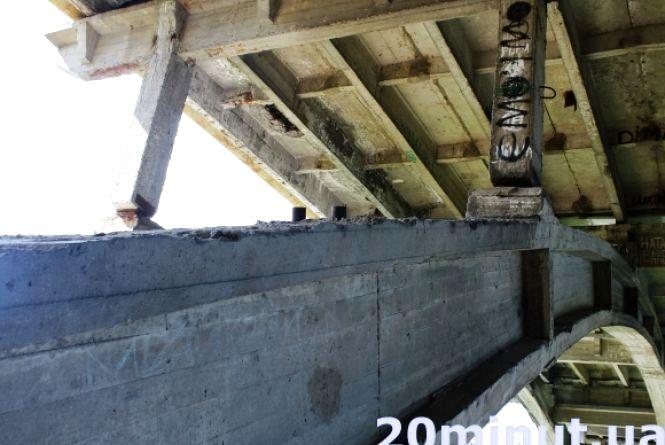 Ремонт Київського мосту оцінюють в 67 мільйонів. Влада оголосила тендер
