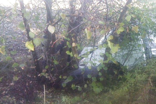 «Газель», що злетіла у кювет, діставало шість рятувальників