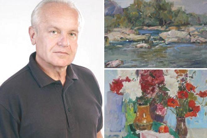 Картини художника Юрія Кафарського «дивляться» небом та «дихають» вітром
