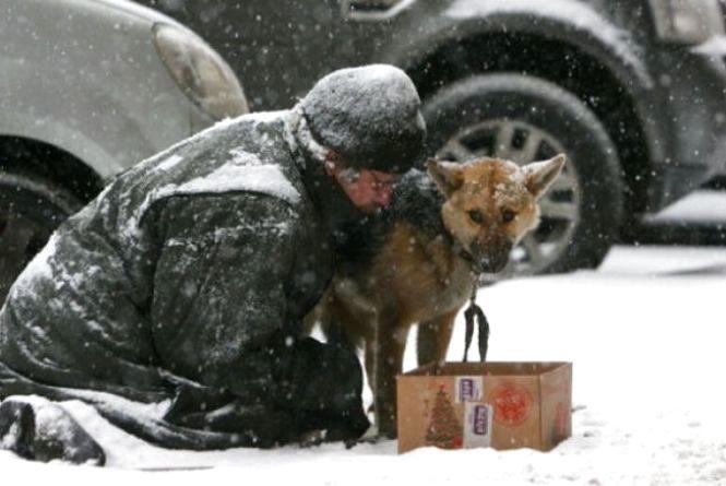 З холодною головою: Як допомогти безпритульним пережити зимові морози