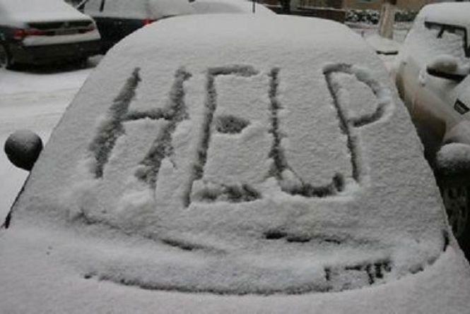 Близько десятка людей у Вінницькому районі потрапили у снігову пастку