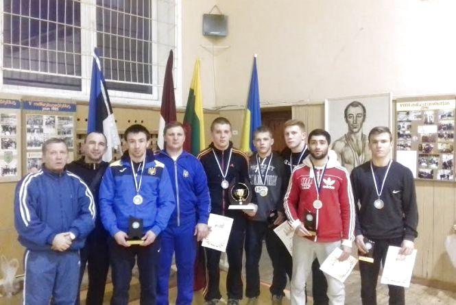 Вінницькі борці греко-римського стилю здобули шість медалей на міжнародному турнірі в Естонії