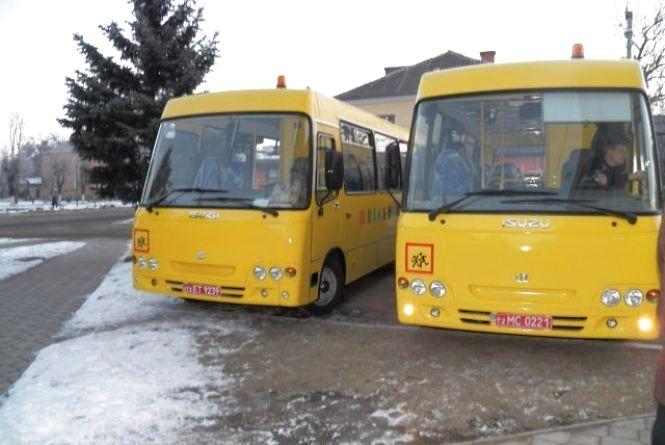 Дітей в школу возитимуть «Aтамани», які при перевищенні швидкості гудітимуть (ФОТО)
