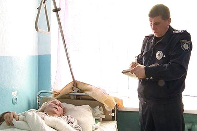 П'яний молодик за 300 гривень мало не вбив бабусю. Каже — нічого не пам'ятає (ФОТО)