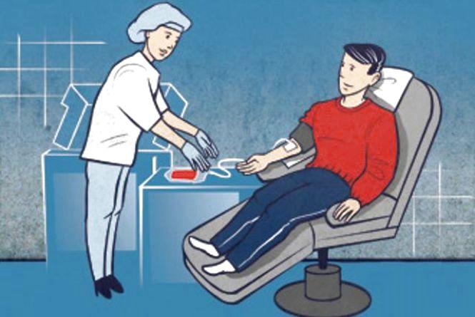 Фото дня: Як вінницькі лікарі бояться чоловічої менструації