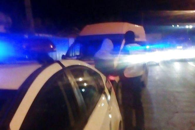 У Вінниці п'яний водій втік із місця ДТП, де його Opel «поцілувався» з BMW