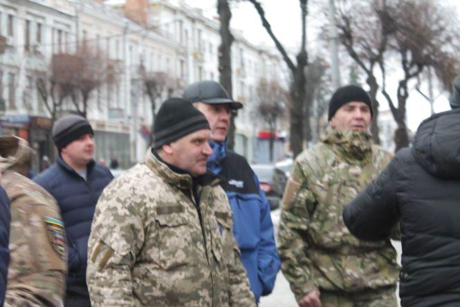 Під ОДА мітингували Атошники на захист Грача, а пенсіонери «бо їм так сказали»