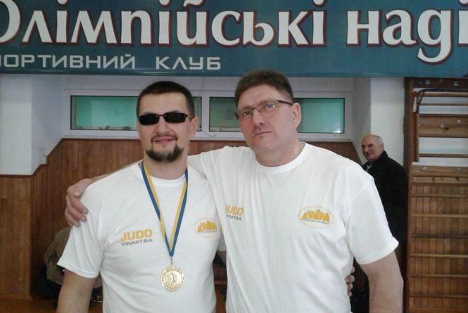 Вінницький борець з вадами зору став чемпіоном України