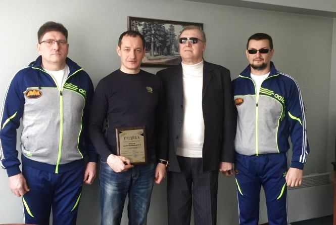 Перемогу незрячому спортсмену допоміг здобути Володимир Адамчук (Прес-служба УТОС)