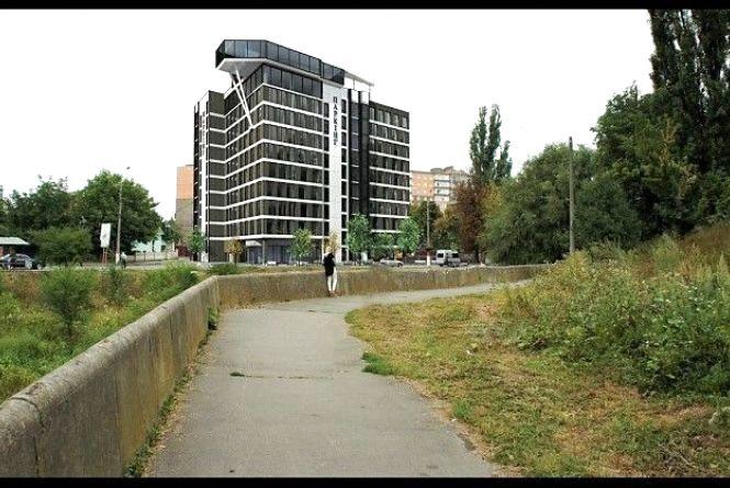 На Чорновола з'явиться багатоповерхівка-паркінг. А де ще можуть бути?