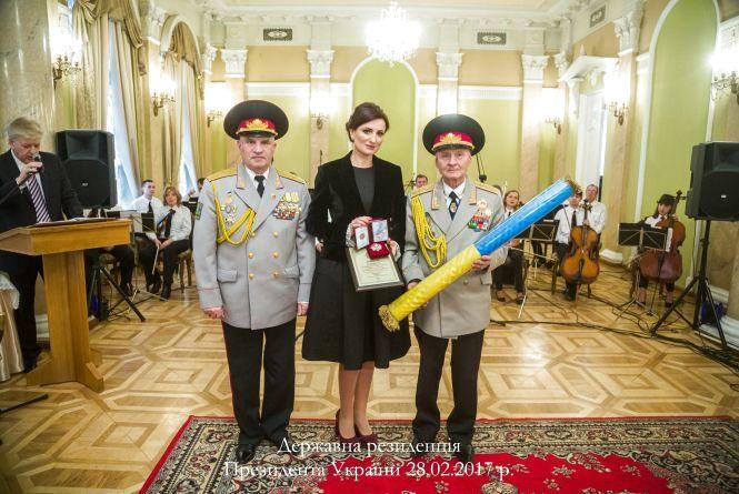 Людмилу Станіславенко відзначили орденом «За громадянську доблесть» (Прес-служба благодійного фонду «Людмили Станіславенко»)