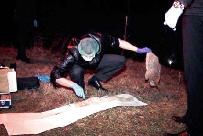 По провулку Широцького  в річці знайшли пакет з людськими рештками (ФОТО)