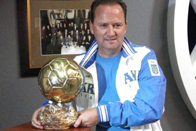 Володар «Золотого м'яча» Ігор Бєланов нагороджуватиме юних вінницьких футболістів