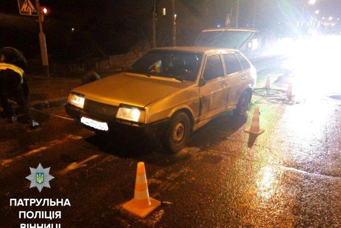 П'яний водій вчинив у Вінниці ДТП та втік. Його знайшли, але він не зізнається