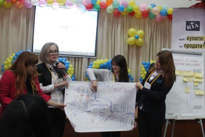 У школі №35 креативні педагоги зустрілися на EdCamp Ukraine