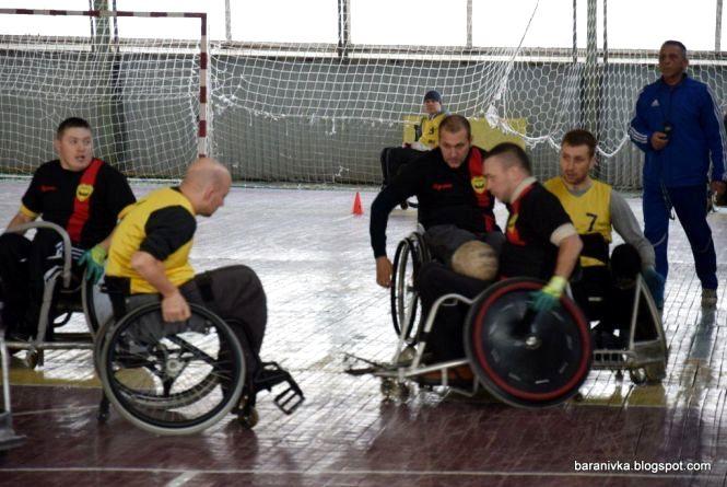 У Вінниці відбудеться турнір з регбі серед спортсменів на візках
