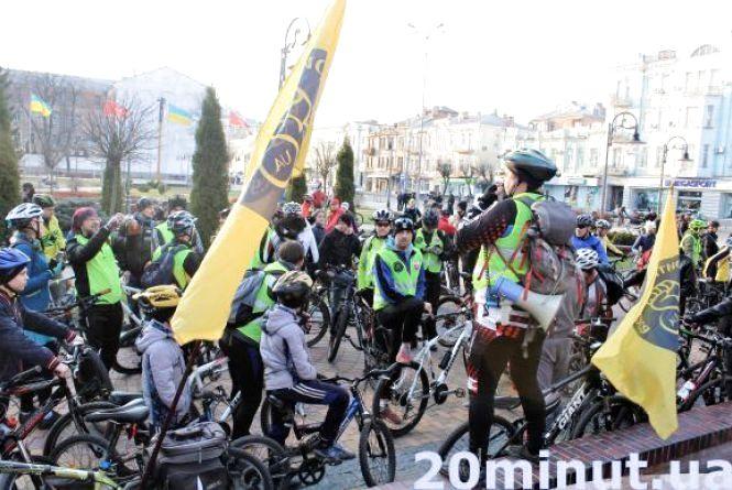«Критична маса» запрошує неуспішно проїхатися вінницькими велодоріжками