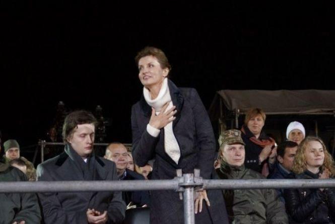 На відкриття фонтану «Рошен» приїде перша леді України Марина Порошенко