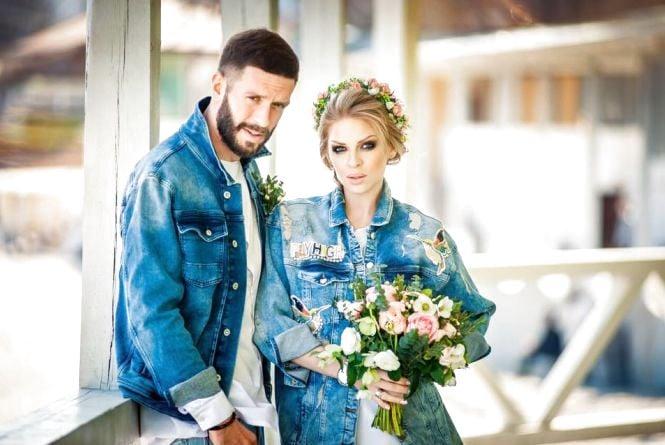 «ТІК» і «Дизель Шоу» поріднились: продюсер Олег Збаращук одружився з акторкою Яною Глущенко
