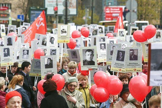 """""""Пропутінські сили"""" 9 травня в центрі Віннниці організовують марш """"Безсмертного полка"""""""